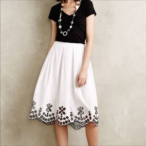 Anthropologie (Moulinette Soeurs) skirt w/ pockets